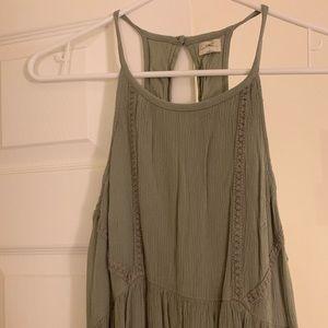 O'Neill women's green summer dress